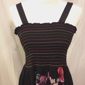 Dresses - Vintage Floral Maxi Dress